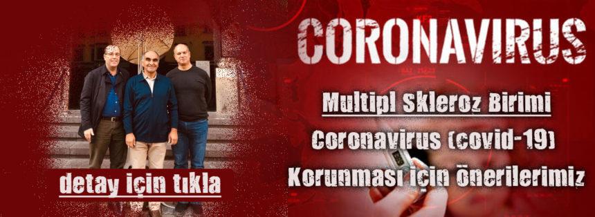 Coronavirüs (COVİD 19) Korunması İçin Önerilerimiz